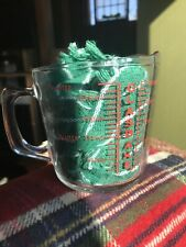 Vintage Glasbake Measuring Cup 2 Cups Closed D Handle