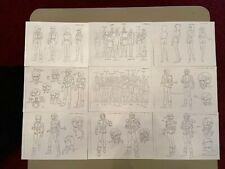 Mobile Suit Zeta Gundam Settei Sheets