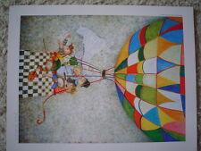 "GRACIELA RODO BOULANGER - Large Vintage Postcard ""Voyage de Noces"""