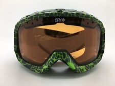 SPY+ Optic TREVOR Illusion Goggle 312013859185 Green/Black Print -Persimmon Lens