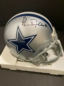 Michael Irvin Autographed Dallas Cowboys Mini Helmet GTSM