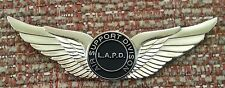 "LAPD Air Support 2-1/2"" WINGS Lapel Pin"