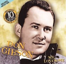 """DON GIBSON, CD """"MR. LONESOME"""" NEW SEALED"""