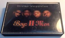 BOYZ II MEN Tape Cassette CHRISTMAS INTERPRETATIONS 1993 Motown records