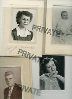 KARPINSKI Family-Lot of 9 Photo's-Telephone Pioneers Document-Denver-MN-WI