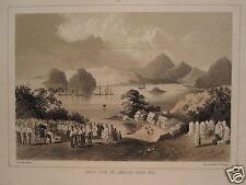 GERMAN AMERICAN HEINE JAPAN COMMODORE PERRY EXPEDITION 1856 USA GRAVEYARD SIMODA