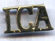 IRISH CITIZEN ARMY ( ICA) SHOULDER BOARDS CYPHER