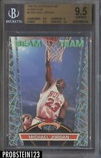 1992-93 Stadium Club Beam Team #1 Michael Jordan Bulls HOF BGS 9.5 GEM MINT