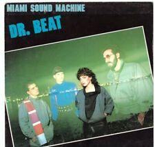 MIAMI SOUND MACHINE - DR. BEAT  - 7'' PICTURE SLEEVES - SOLO COPERTINA