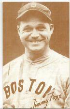 1980 EXHIBIT BASEBALL HOF CARD~JIMMY FOXX 1B BOSTON RED SOX