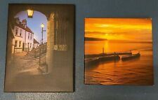 2 Landscape Prints On Canvas from Whitby photography