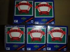 5 Sets of 1989 Upper Deck High # Series ( FREE Shipping !!)