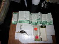 VINTAGE HEDDON 9320 deep SDN Hedd Hunter Natural FISHING LURE BOX natural shad