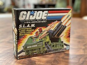 1987 Hasbro GI Joe S.L.A.M. Vehicle MIP Strategic Long Range Artillery Machine