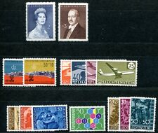 Liechtenstein 1960 389-403 ** Post freschi tadelos annata (49472