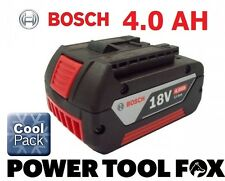 12 ONLY! Bosch 18v 4.0ah Li-ION Battery (COOL PACK) 2607336815 1600Z00038 4BLUE#