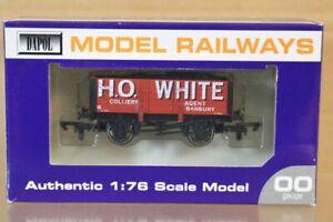 DAPOL H O WHITE BANBURY 5 PLANK WAGON 6 WEST WALES wagon LIMITED EDITION ns