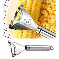 Stainless Steel Kitchen Corn Cob Stripper Cutter Peeler Thresher Remover Tool