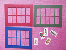 CIGARETTE CARD MOUNTS X 5 TO HOLD 10 STANDARD CARDS
