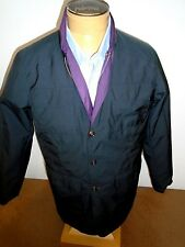 Peter Millar Canton Reversible Safari Style Jacket NWT M $225 Purple and Black