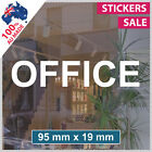 OFFICE Custom Sign VINYL LETTERING ANY SIZE! Business Shop sticker decal (1001)