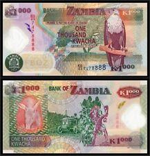 Zambia 2011 Thousand 1000 Kwacha UNC (P-44h)