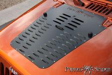 Poison Spyder Vented Hood Louver - Black Powdercoat for 07-12 Jeep Wrangler JK