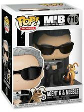 Funko Pop #716 Movies Men in Black Agent K with Neeble Figure New Bad Box