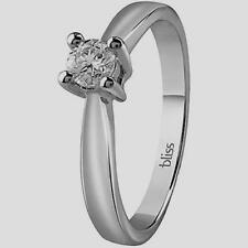 "BLISS, ANELLO ""DREAM"" SOLITARIO CON DIAMANTE,ORO BIANCO 18KT (20081215) , NUOVO"