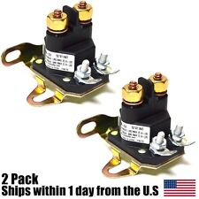(2) Relay Solenoid for Western Fisher Meyers Snowplows Universal 4 Post Plow