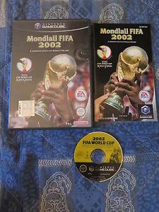 GC : MONDIALI FIFA 2002 - Completo! Il gioco ufficiale ! Comp WII ! Gamecube