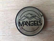 1X MANGELS ALLOY WHEEL CENTRE HUB CAP EMBLEM BADGE PLASTIC  PDAC8156