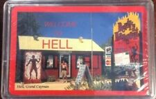 Welcome To Hell Grand Cayman Playing Cards Preowned Bridge Poker Card Games