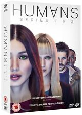 HUMANS 1+2.0 (2015-2016) HUM∀NS: Synth Android SciFi Season Series R2 DVD not US