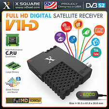 X2 V1 Mini HD DVB-S2 (FTA) with IPTV & PVR Hybrid Satellite Receiver (NEW)