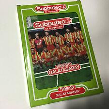 GALATASARAY 1999/00 SUBBUTEO SQUADRA CALCIO Legends La Leggenda Team