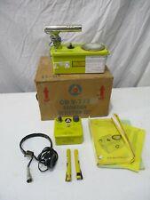 Civil Defense Victoreen Cdv 700 Geiger Counter Survey Meter Set Partsrepair