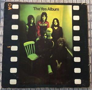 YES The Yes Album  Atlantic Super 2400 101 UK 1971 1st press Reasonable condtion