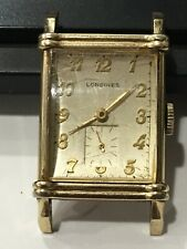 Longines Art. Deco. Wristwatch Cal. 9L  10k gf tank watch
