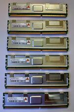 16 x QIMONDA 2GB 2rx4 pc2-5300f hys72t256421efa-3s-c2 Servidor RAM DDR2