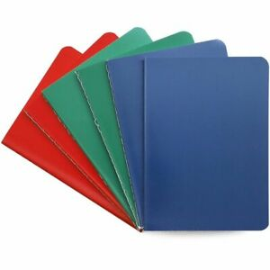 """6x Stone Paper Travel Small Journal Notebook College Ruled Note Book Pad 4""""x5.5"""""""