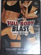 Yogafit Full Body Blast Beth Shaw real yoga workout fitness exercise DVD
