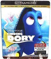 Finding Dory 4K Ultra HD New Sealed Digital Code Disney Pixar Animation Nemo
