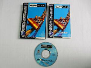 Theme Park für Sega Saturn - CIB - OVP - Komplett !