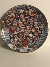 Franklin Mint Santa Claws By Bill Bell Limited Edition Fine Porcelain 8� Plate