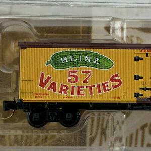 Z Scale Micro-trains Heinz Prepared Mustard 40' Wood Reefer RD# 486 NIB! IC015