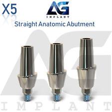 5 Straight Anatomic Abutment Aesthetic Titanium For Dental Implant Internal Hex