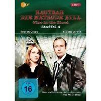 HAUTNAH - DIE METHODE HILL - STAFFEL 4 4 DVD NEU