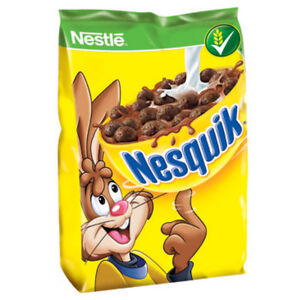 Nestle NESQUIK Chocolate cereal with vitamins 250g Shipping Worldwide