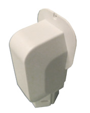 PVC Wall Entry Cap for Heat Pumps